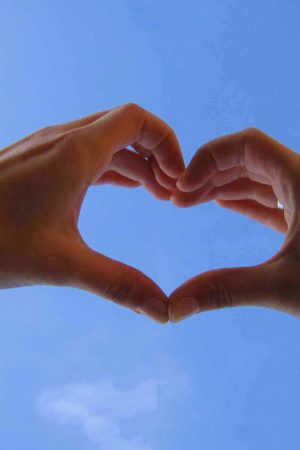 hand-in-heart