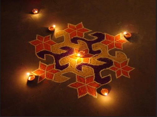 Basic Rangoli Pattern