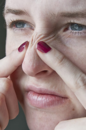 How To Clean An Oily Nose