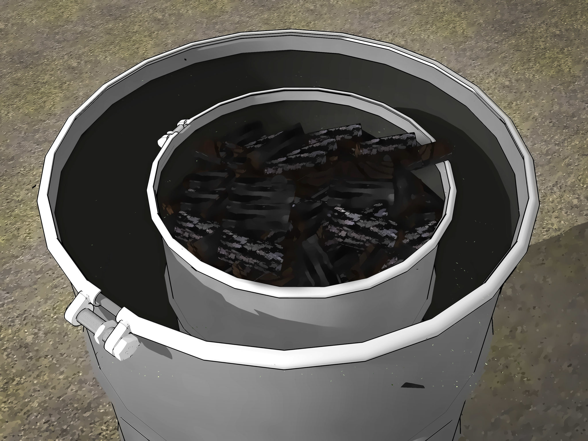 how to make charcoal hassle Free easy steps