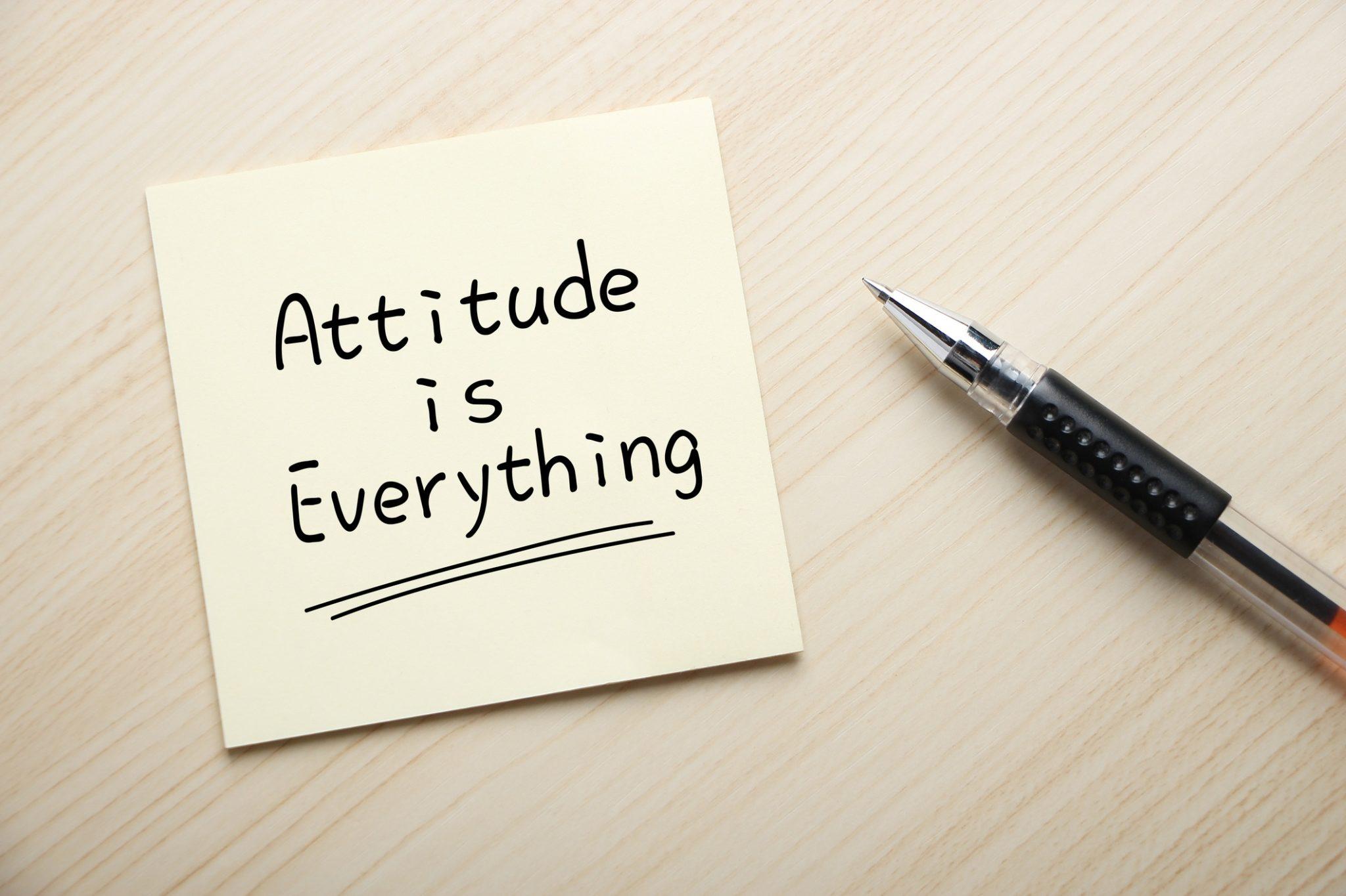 Developing Positive Attitude