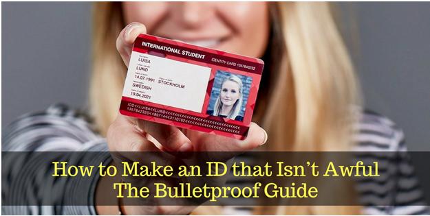 ID maker software