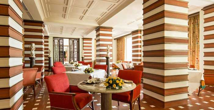 breakfast at The Oberoi