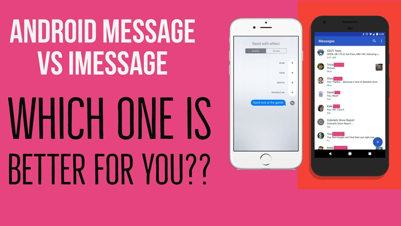 How the New Android Messages Actually Compares to iMessage - Ejournalz