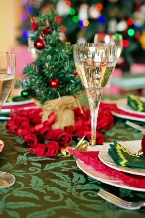 Perfect Christmas Dinner Table