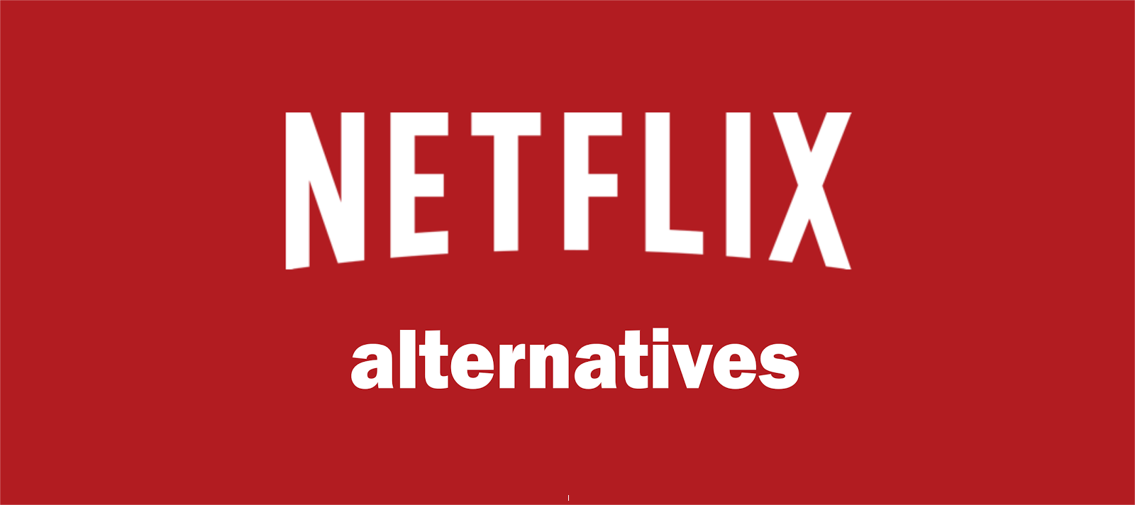 Netflix-alternatives