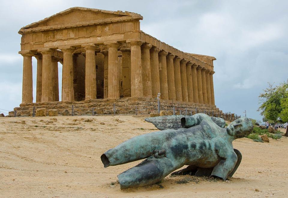 Agrigento of Sicily
